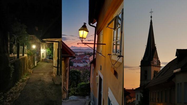 Kvällspromenad Slovenien