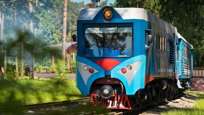 barnens järnväg ryssland