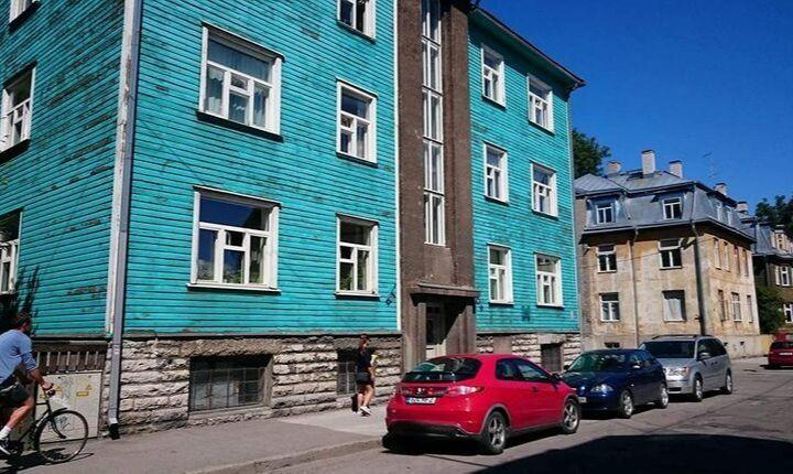kalamaja i Tallinn trähus