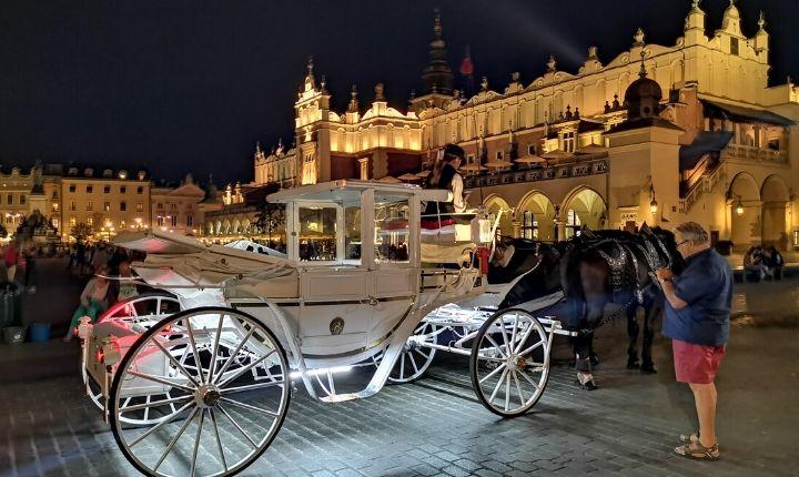 häst och vagn krakow