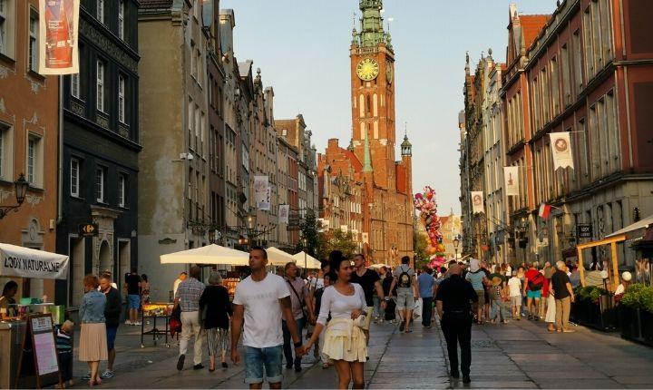 Stad i europa gdansk