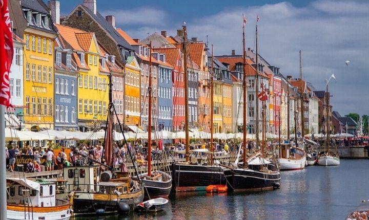 städer att besöka Europa köpenhamn