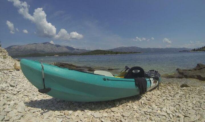 stränder på öar korcula