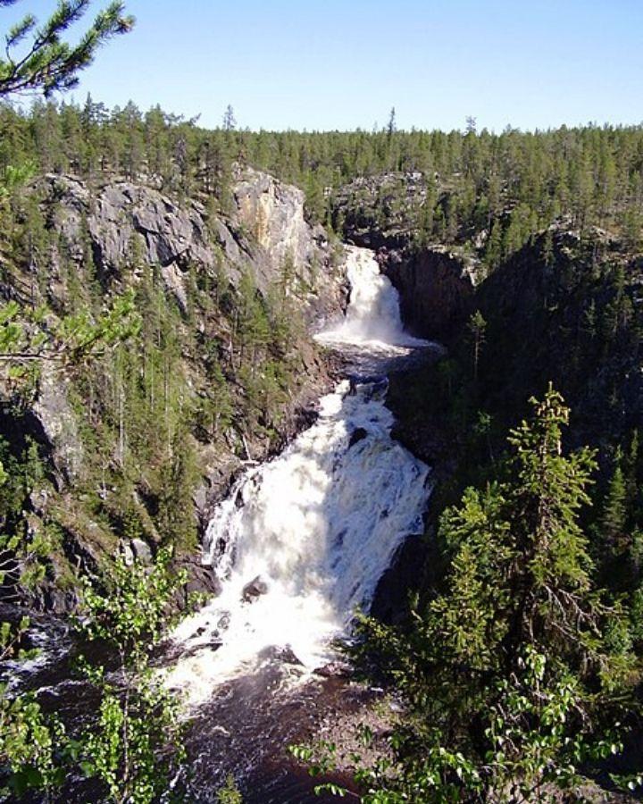 muddusfallet sveriges högsta vattenfall