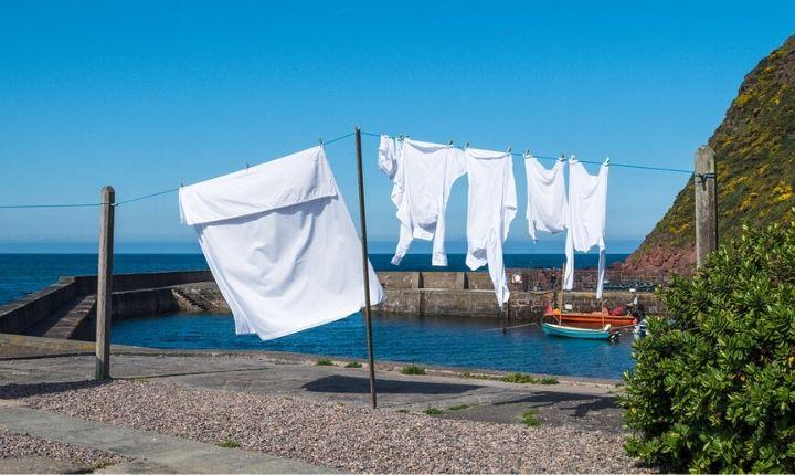 tvätta kläder på resan