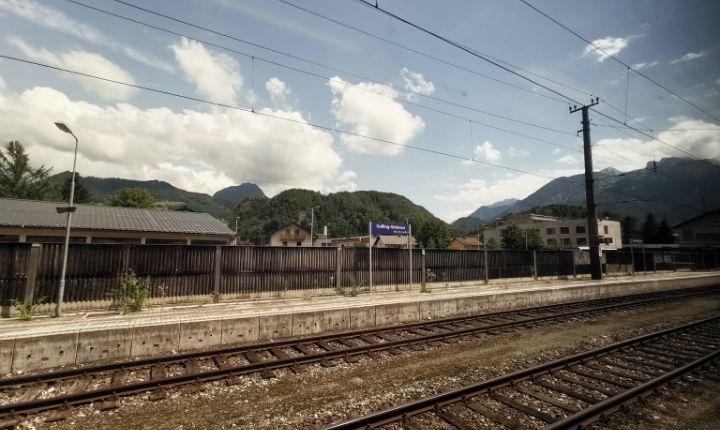 åka tåg till venedig