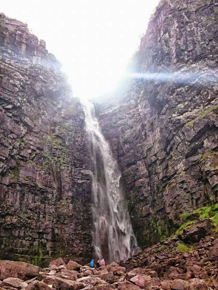 njupeskär sveriges högsta vattenfall