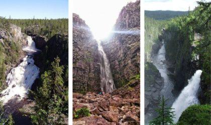 Sveriges högsta vattenfall – De största & häftigaste!