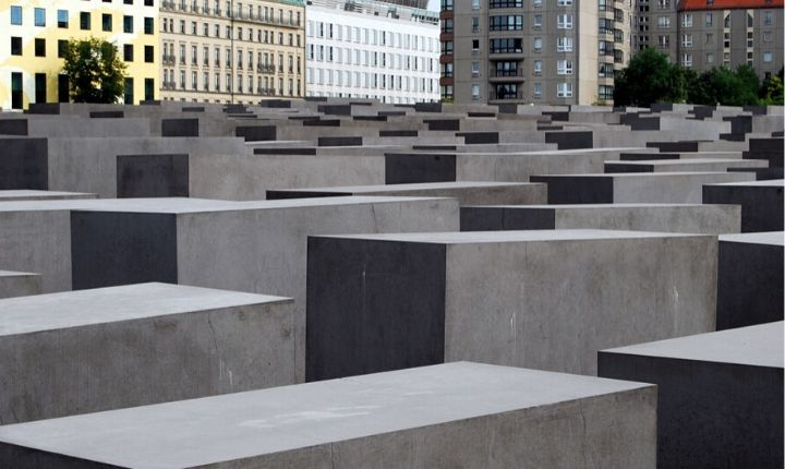 att göra i Berlin förintelsemonumentet