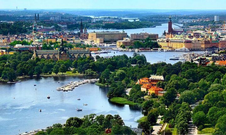 Stockholm Sveriges största stad