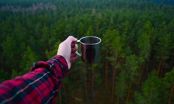 fjällvandring kaffe