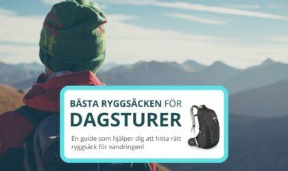 Bästa ryggsäcken för dagsturer – Bra val för dagsvandring
