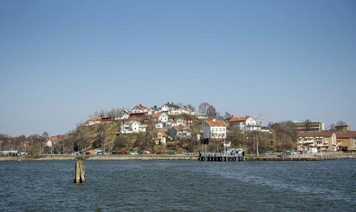 Hisingen största öar i Sverige