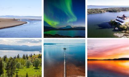 Sveriges största sjöar – De med störst yta i storleksordning