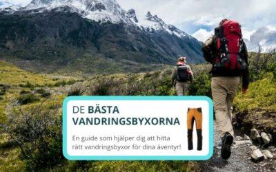 Bästa vandringsbyxorna 2020 – 5 bra friluftsbyxor för uteliv