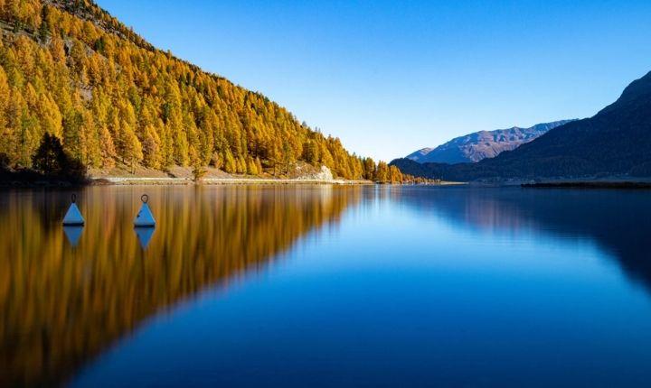 dricka vatten från sjö
