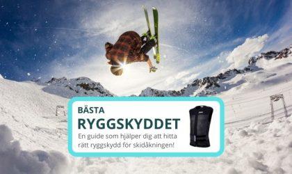 Bästa ryggskyddet för skidor – 3 bra ryggskydd för skidåkning