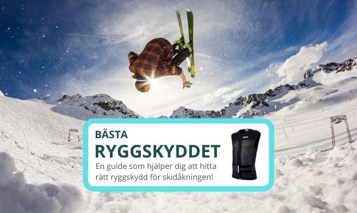 bästa ryggskyddet skidor