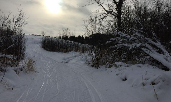 åka längdskidor i skåne